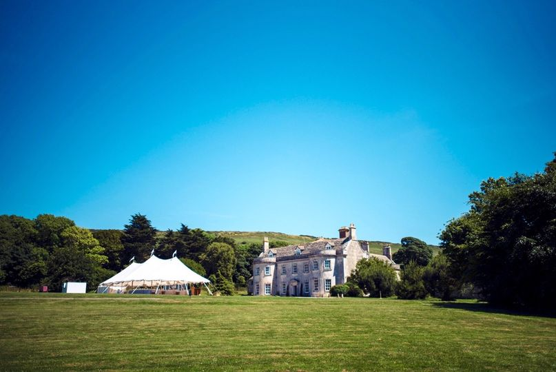Marquee at Smedmore House