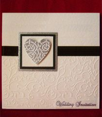 Celtic Heart Invitation