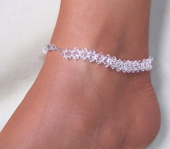 Ice Crystal Anklet