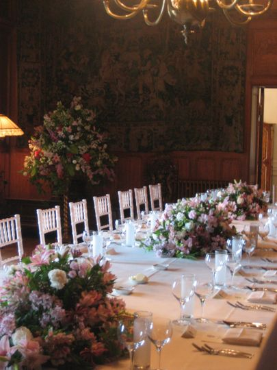 Great Hall top table