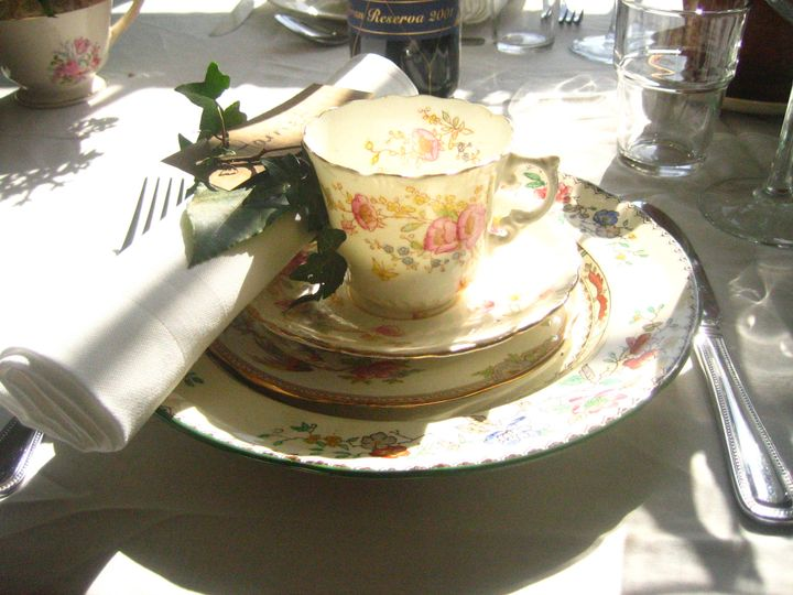 Luncheon place setting