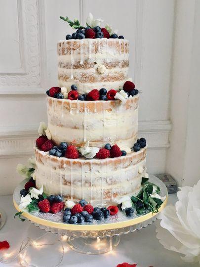 Modern love Cake decoration