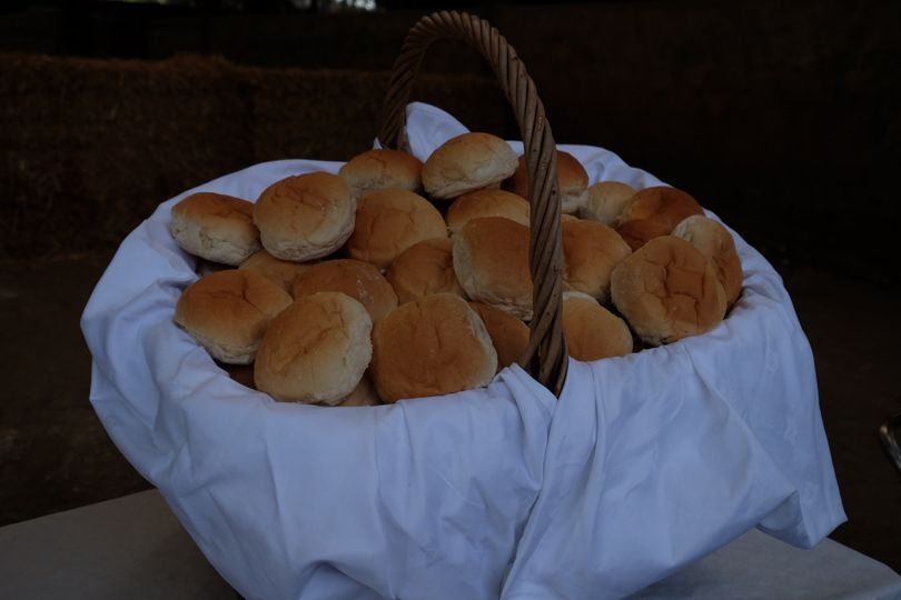 Locally freshly baked rolls