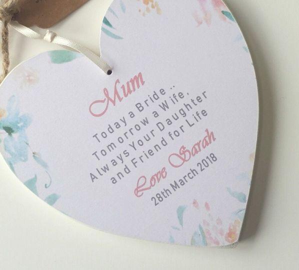 Wedding Heart Gifts