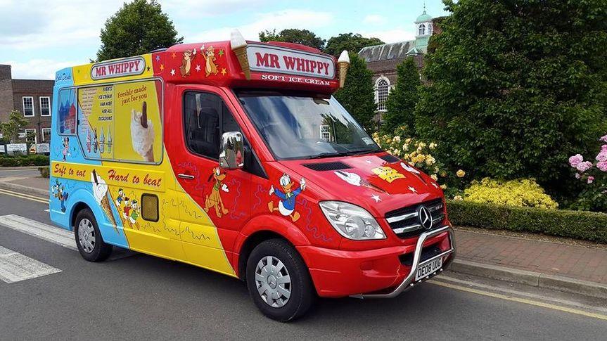 Mr Whippy - Ice Cream Van