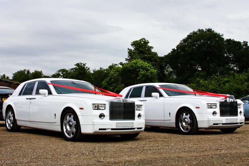 Phantom Wedding Car