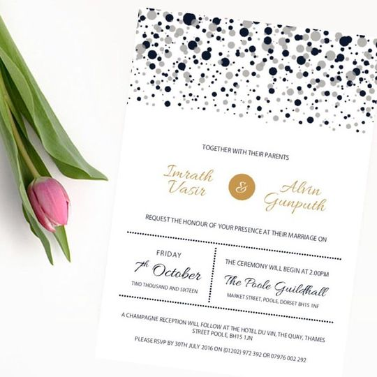 Immy & Alvin Invite UK