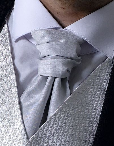 Silver Grey Cravat