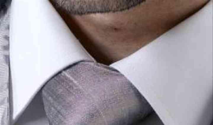 Pewter Raw Silk Tie