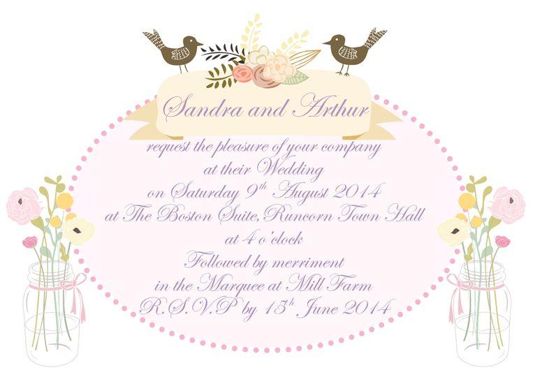 A6 invitation