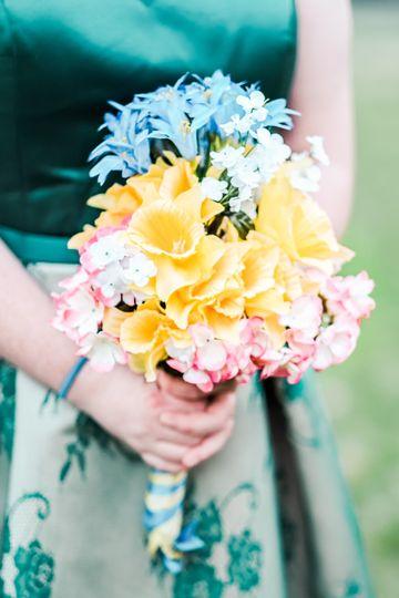 Bride + Custom Flowers