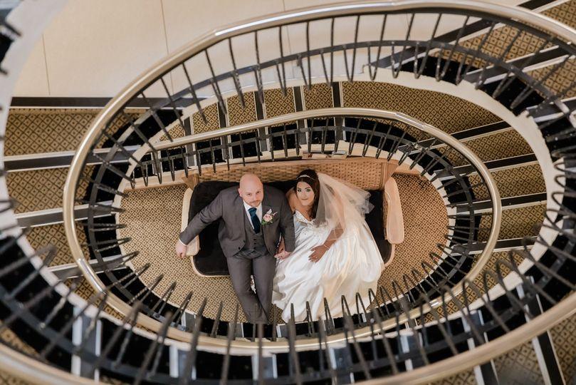 Spiral Staircase Portrait