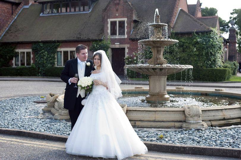 Barnham Broom wedding