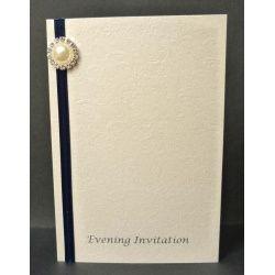 Applique Evening Invitation