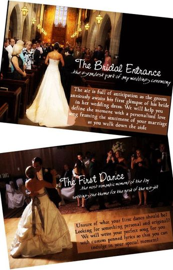 Songs for the First Dance