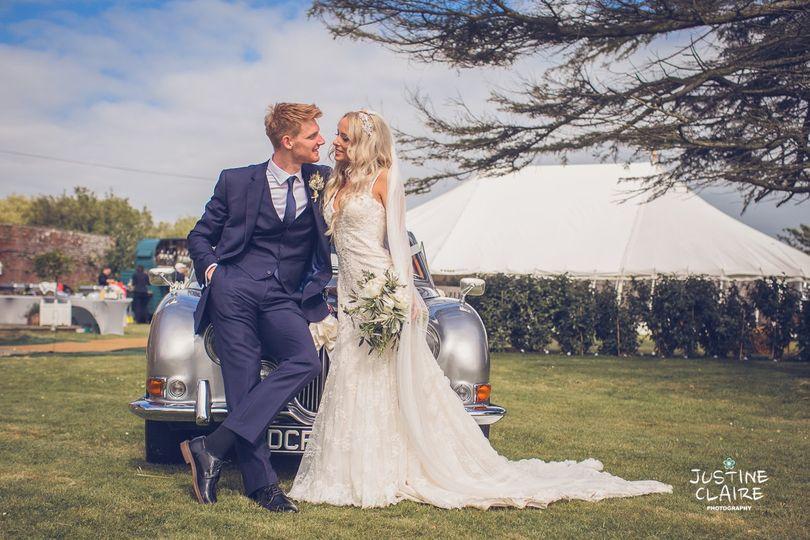Chichester Marquee wedding