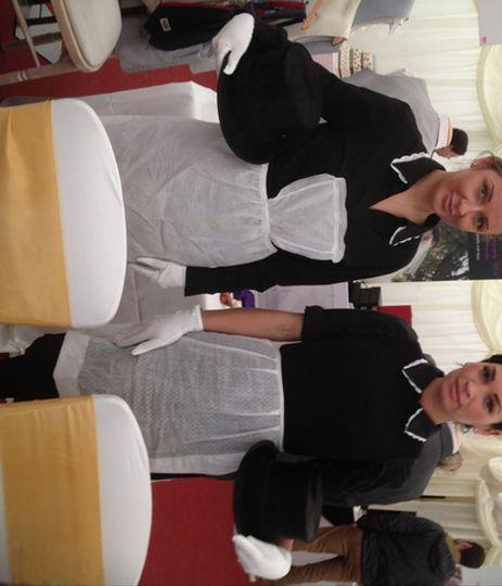 Downton Abbey Weddings staff