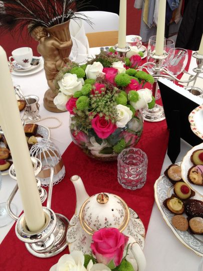 Wedding Table & Floral Display