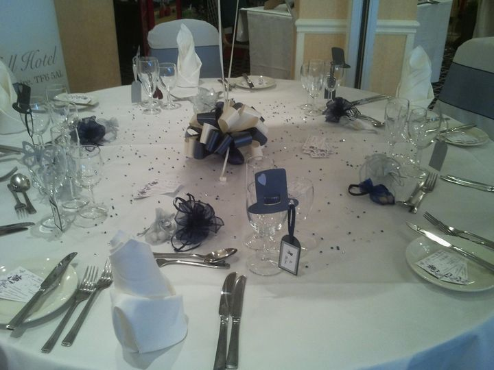 Glass Place settings