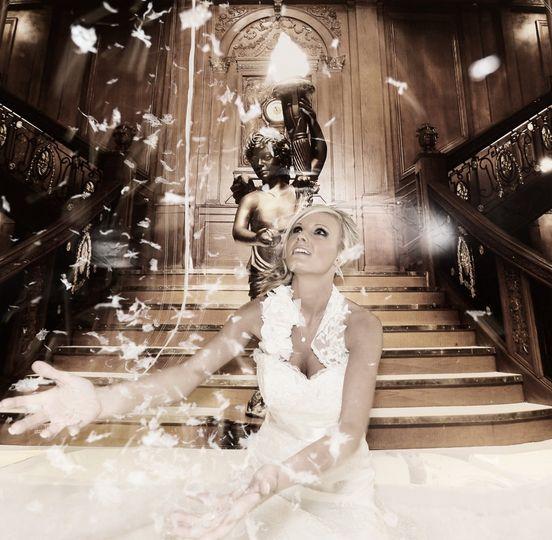 Wedding snowglobe