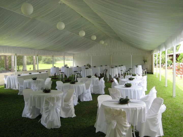 Host a unique marquee wedding