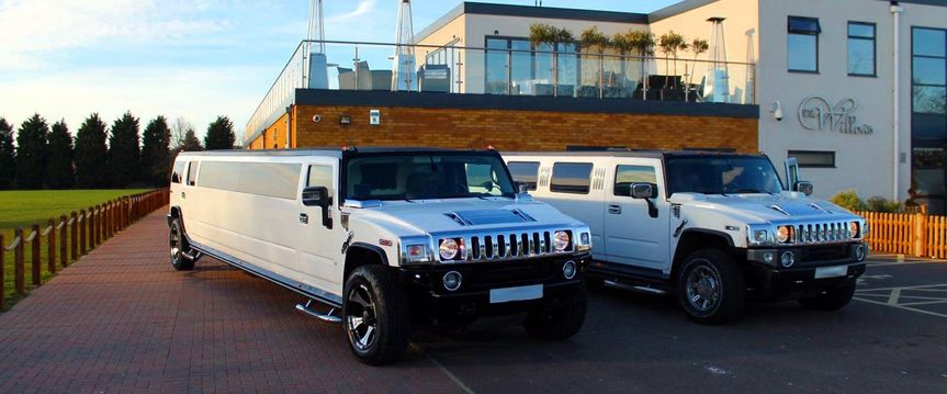 Both of our Hummer Limos