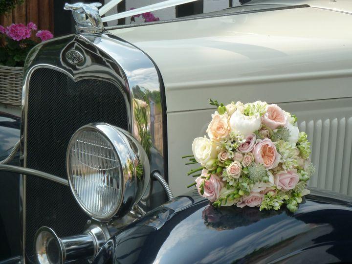 Wedding flowers on wing