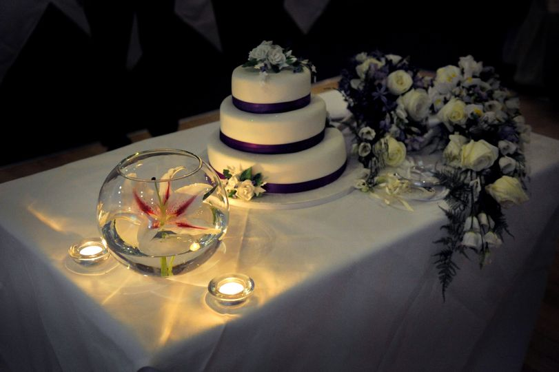 Cake and decorations