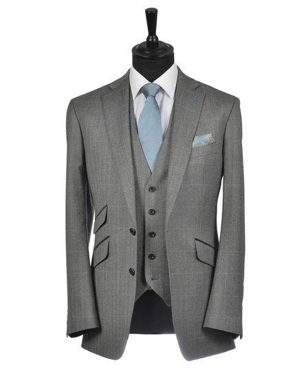 Grey Tweed Belmont Lounge Suit