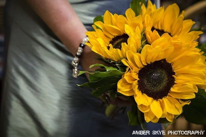 Sunflower Bridesmaid