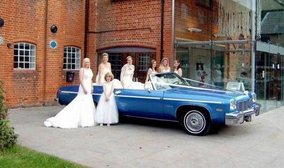 Unique bridal car