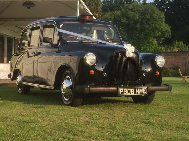 Black Vintage Fairway Taxi