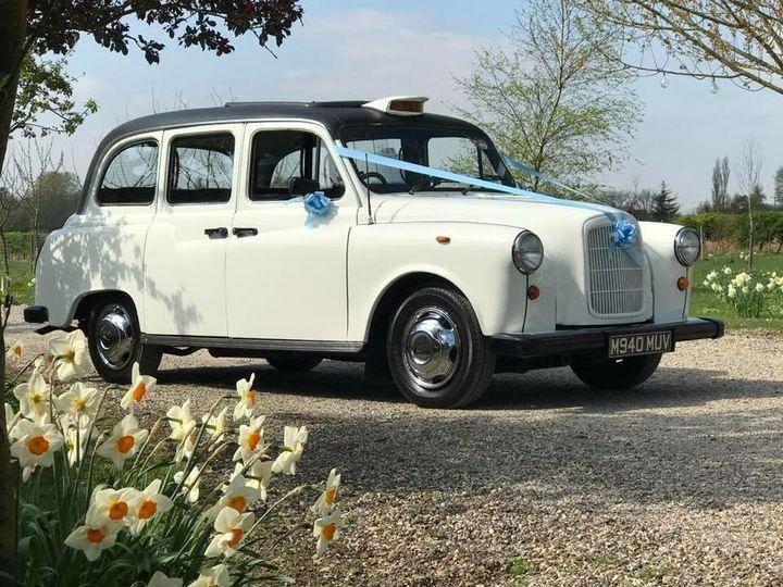 Ivory Vintage Fairway Taxi