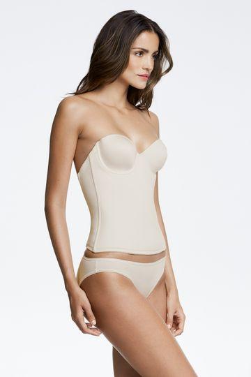 Seamless corset