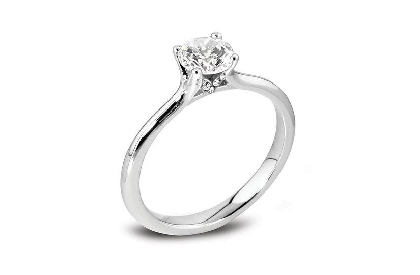Béo Firework Engagement Ring