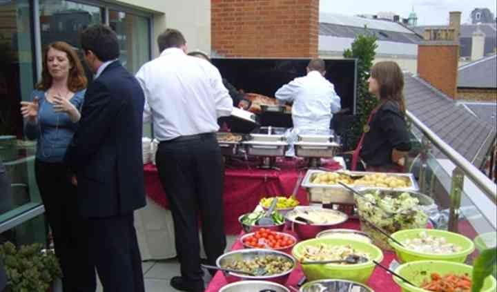 Terrace catering