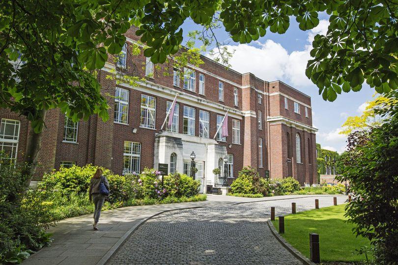 Entrace of University Building