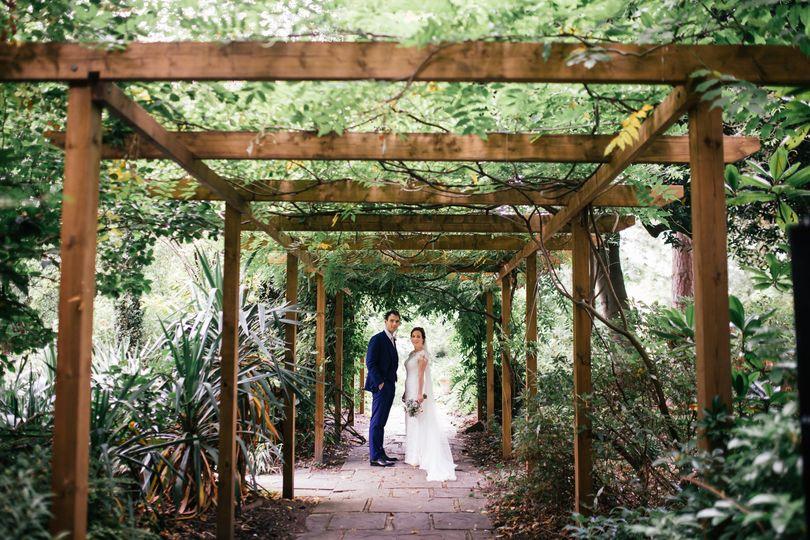 Couple in our secret garden