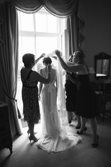North Cadbury Court wedding