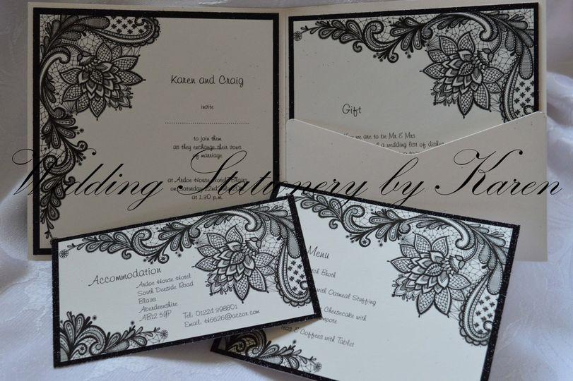 Wedding Stationery by Karen