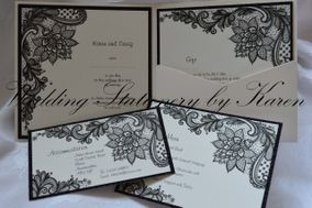 Wedding Stationery by Karen