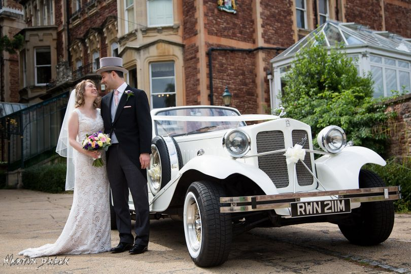 2 Door Beauford Wedding Car