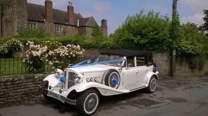 4 Door Beauford Wedding Car