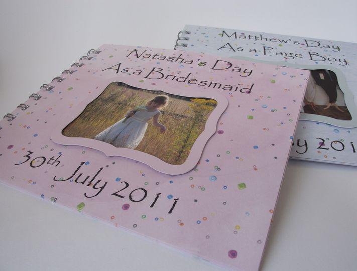 Bridesmaid/Pageboy Activity Books