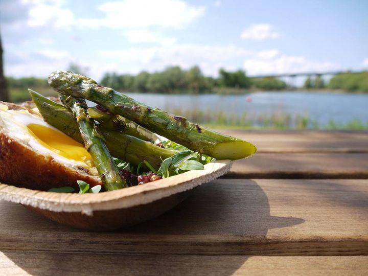 Scotch Duck Egg & Asparagus