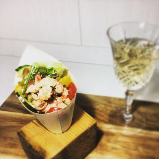 Crayfish Cocktail Cone