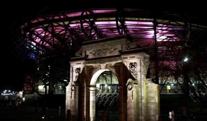 Murrayfield Stadium At Night