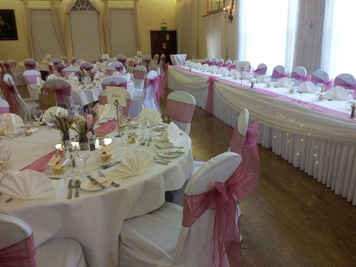 Covers and top table swags