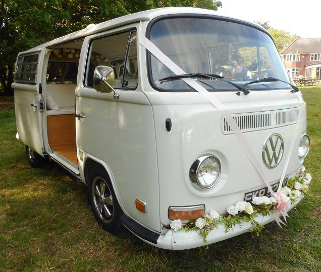 Lillie the ivory campervan