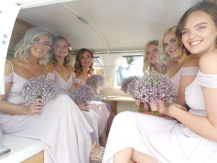 Bridesmaids in Lulu